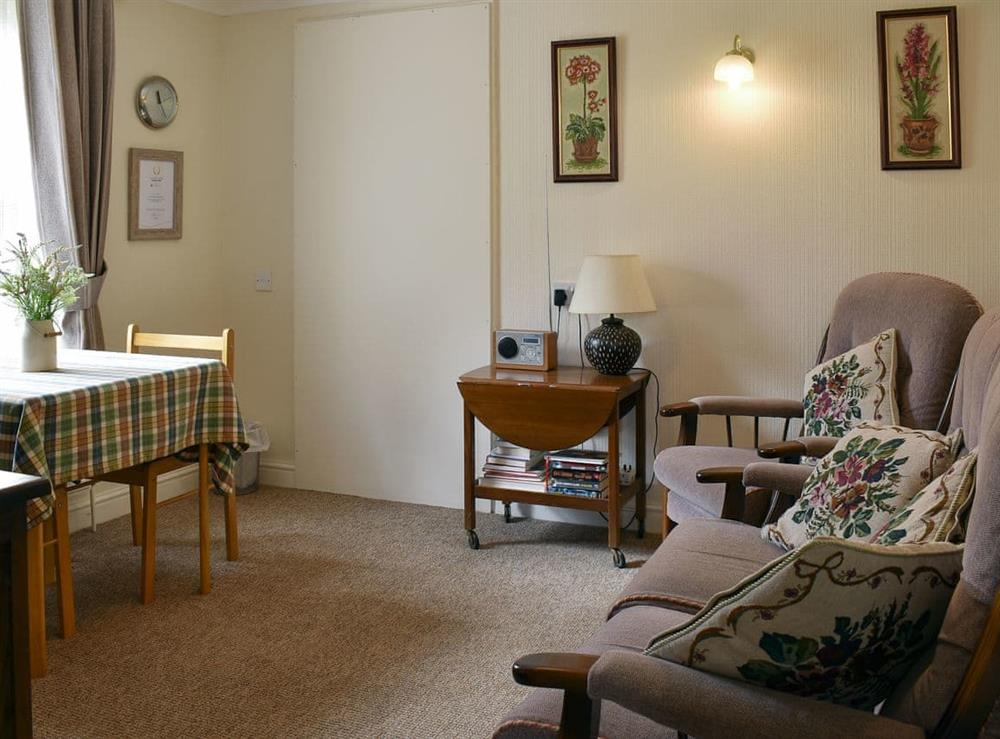 Living room at Bramley Lodge Annex in Clenchwarton, near King's Lynn, Norfolk