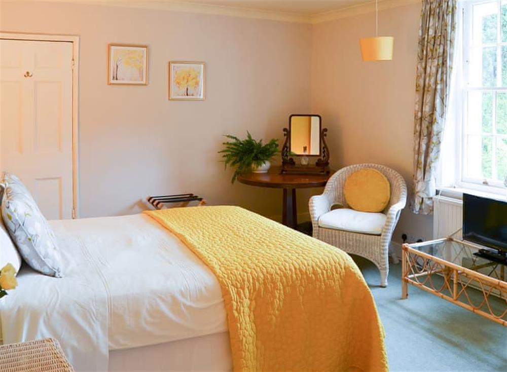 Delightful double bedded room