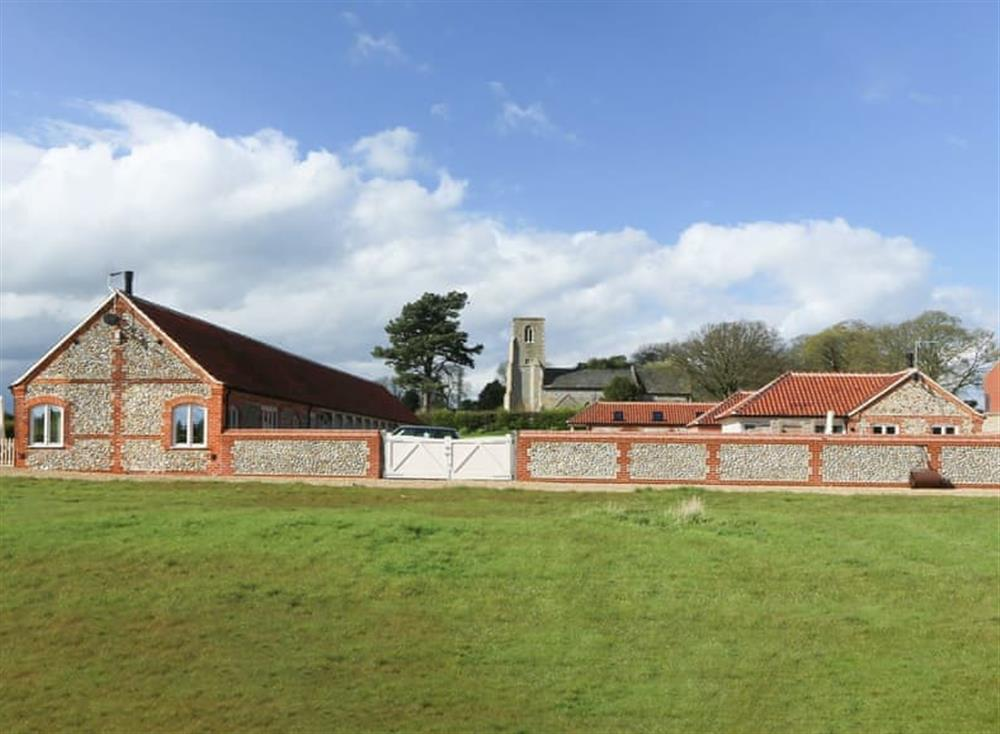 Exterior at Brazenhall Barn,