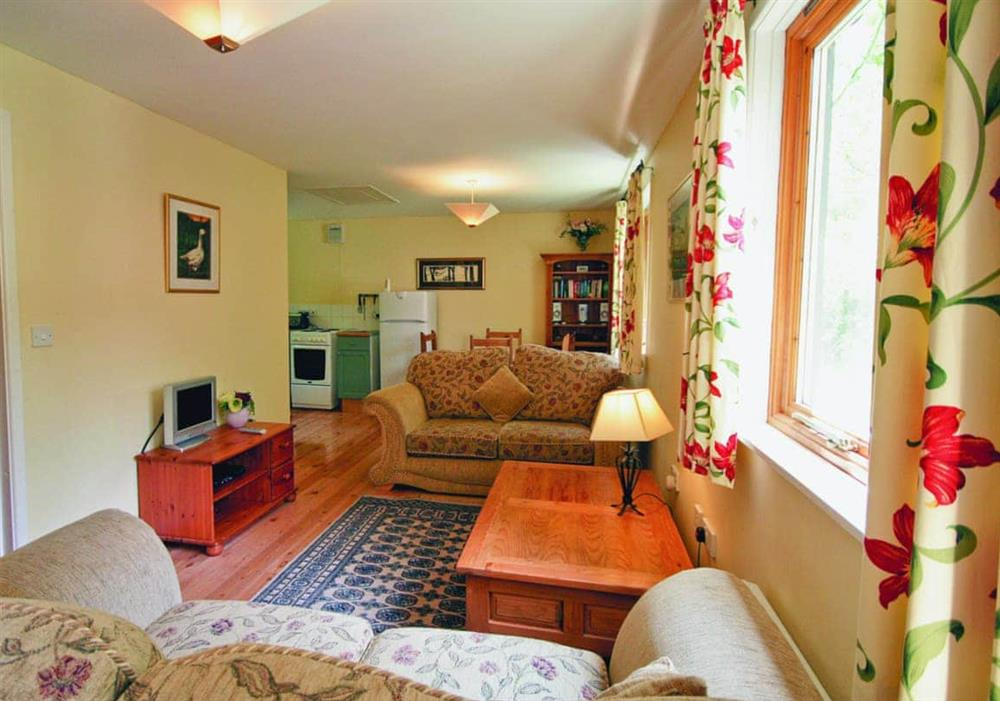 Living room at Briar Cottage in Beccles, Suffolk