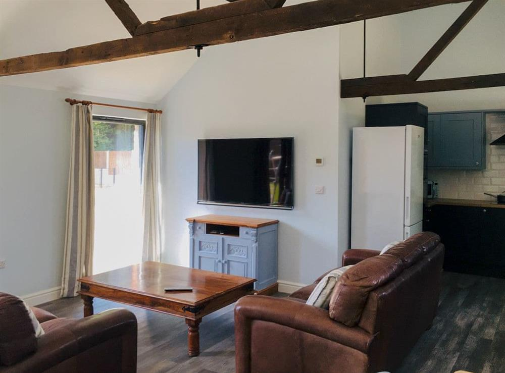 Living area at The Long Barn,