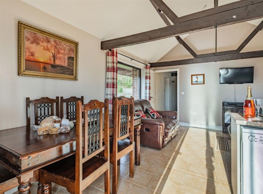 Dining Area at 2 Brick Kiln Barns,
