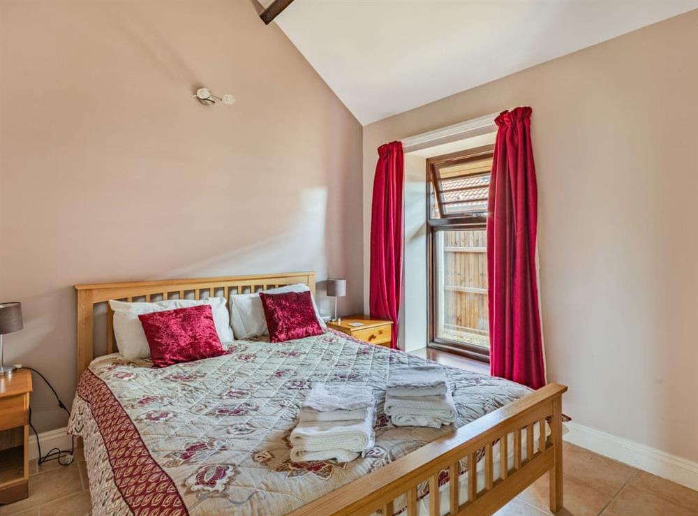 Double bedroom at 2 Brick Kiln Barns,