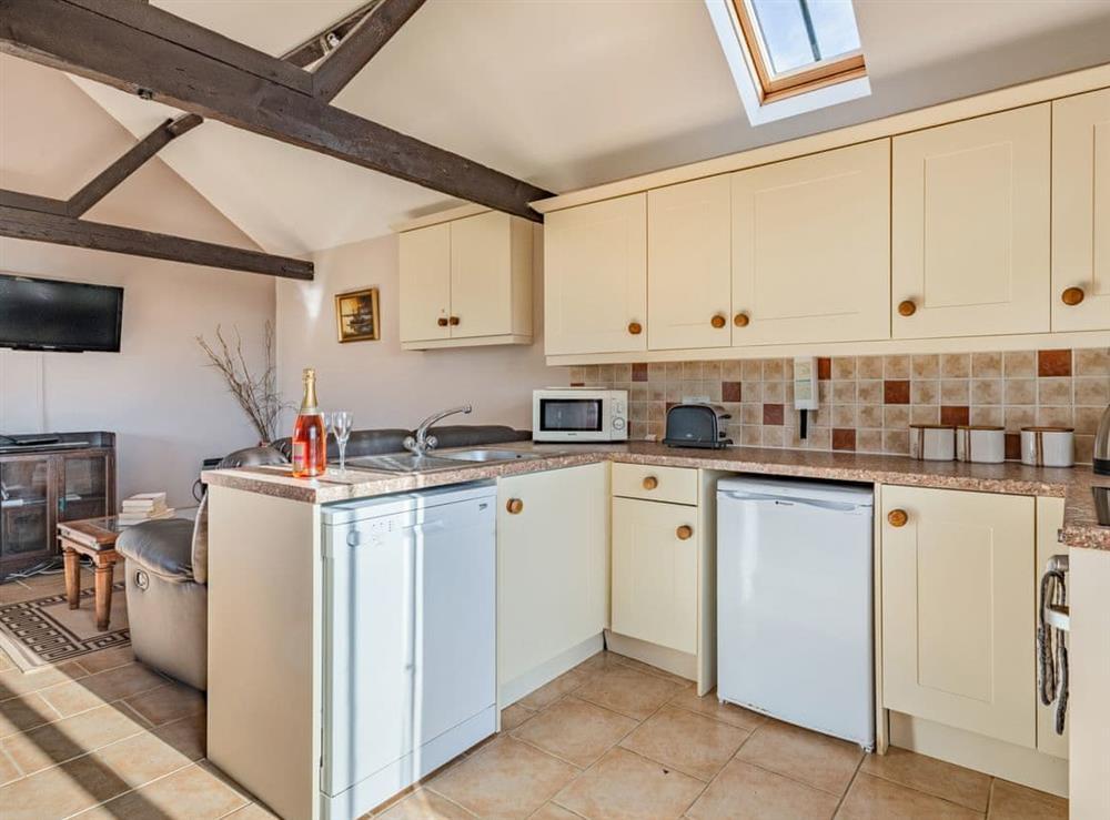 Kitchen at 2 Brick Kiln Barns,