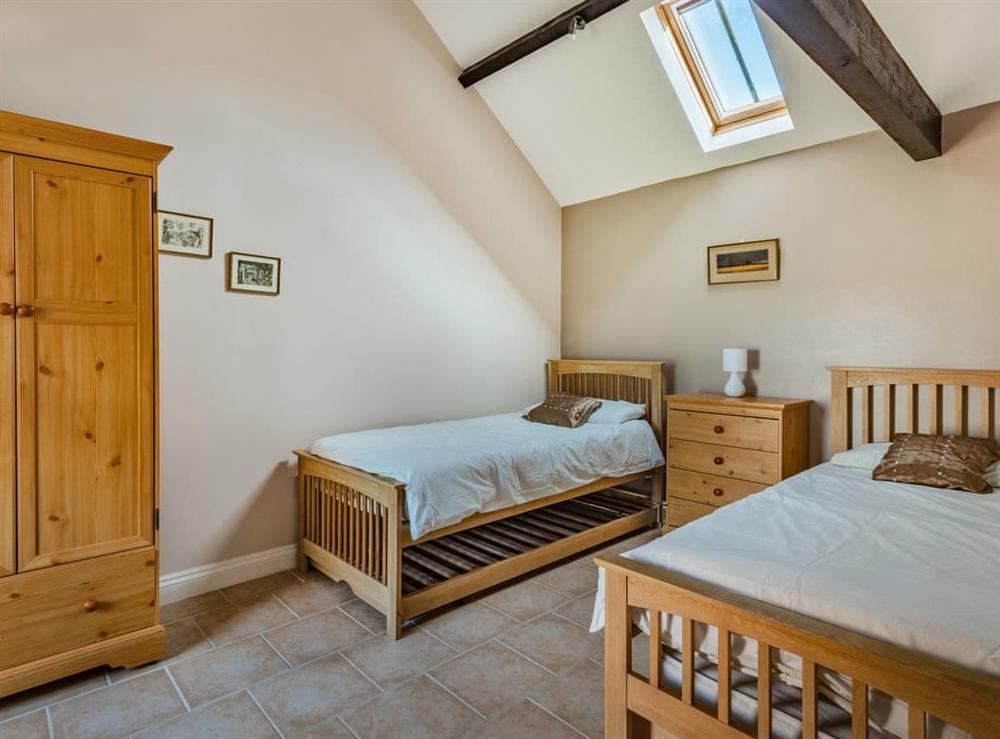 Twin bedroom at 2 Brick Kiln Barns,