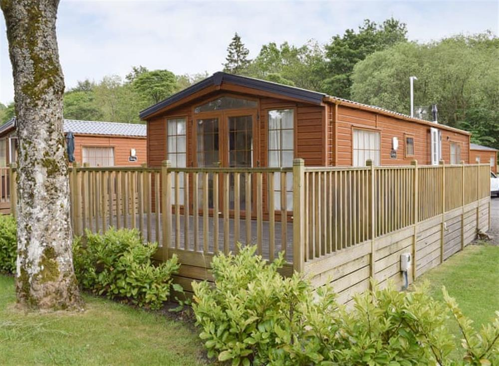 Attractive holiday home at Bridge End Lodge in Dollar, near Stirling, Clackmannanshire