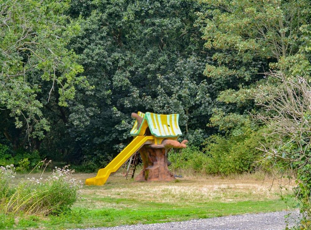 Children's play area at Bridge way in Norwich, Norfolk