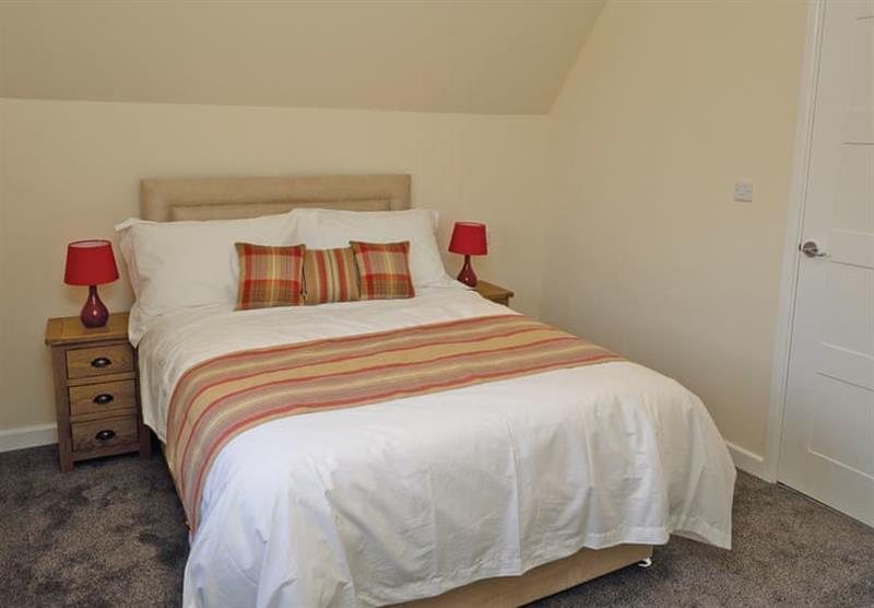 A double bedroom in a Maple VIP at Brigg Marina in Brigg, Lincolnshire
