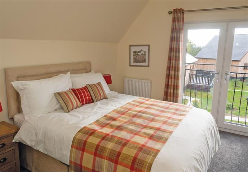 Double bedroom in a Sycamore at Brigg Marina in Brigg, Lincolnshire