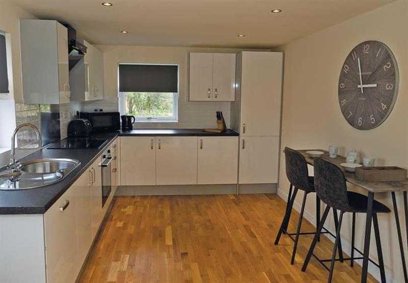 Kitchen in a Sycamore at Brigg Marina in Brigg, Lincolnshire