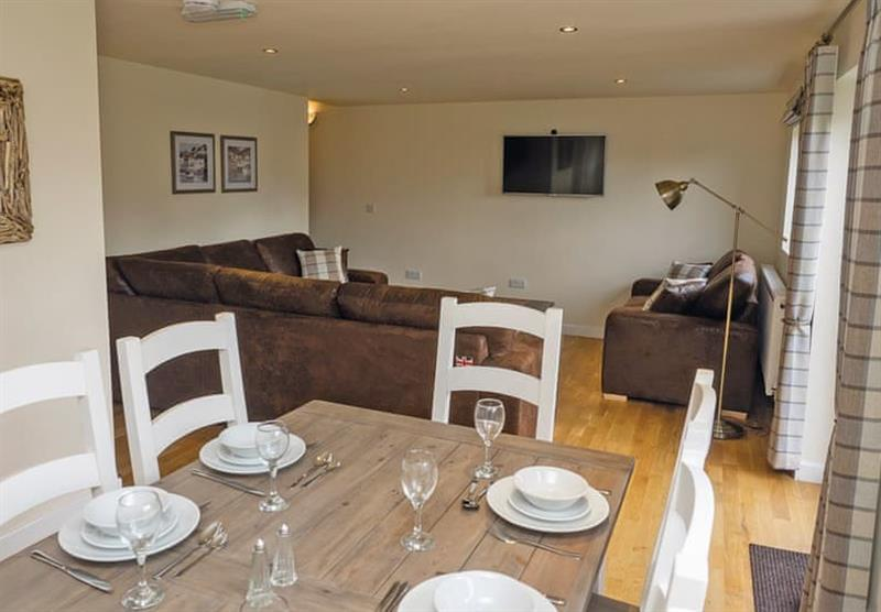 Living and dining area in a Maple VIP at Brigg Marina in Brigg, Lincolnshire