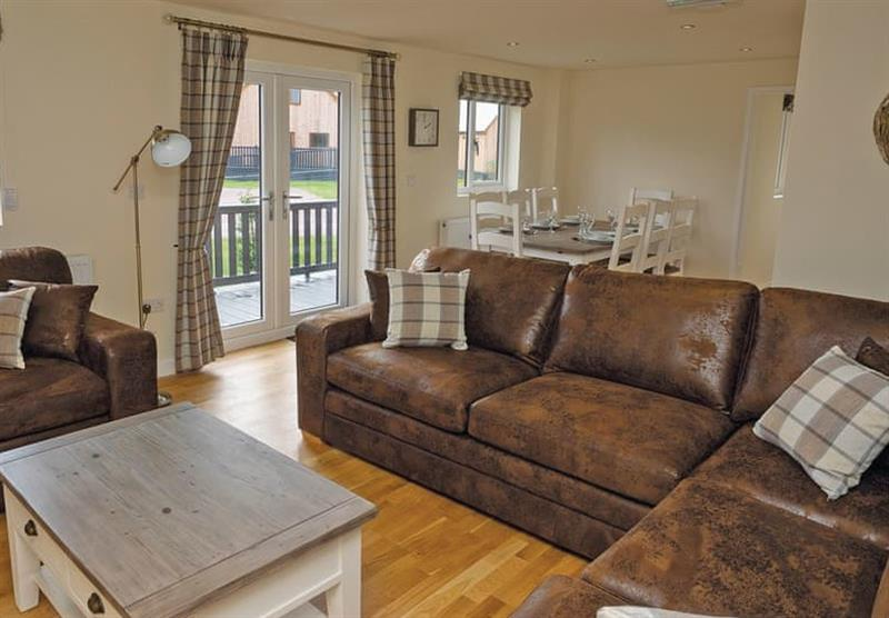Living room in a Maple VIP at Brigg Marina in Brigg, Lincolnshire