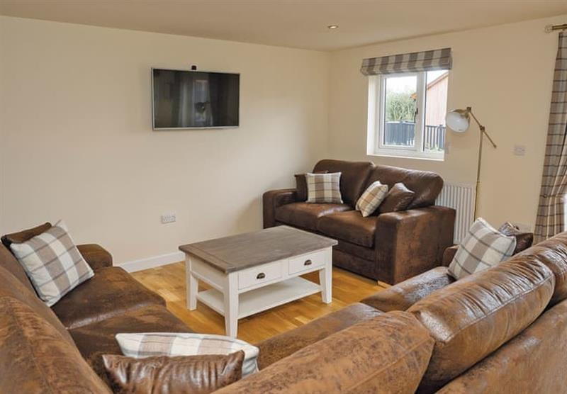 Living room in a Sycamore at Brigg Marina in Brigg, Lincolnshire