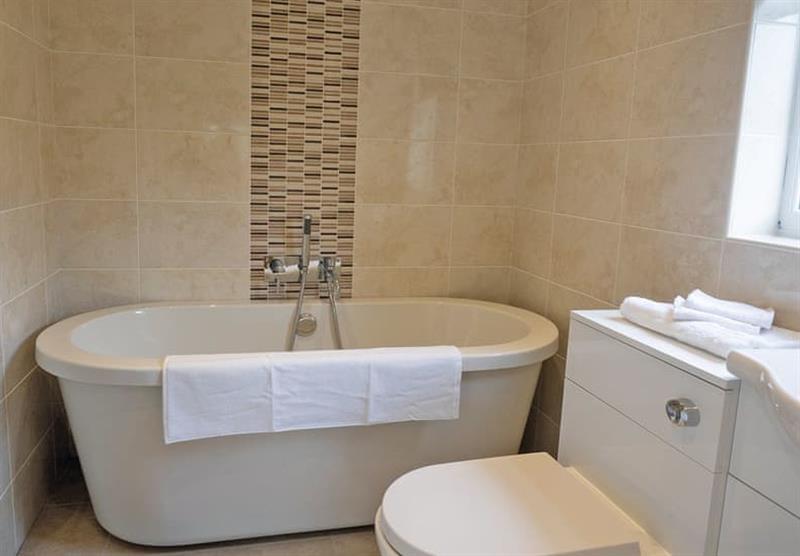 The bathroom in a Maple VIP at Brigg Marina in Brigg, Lincolnshire