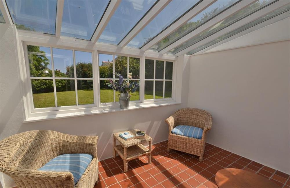 Another view of the sun room at Britannia Cottage, Stoke Fleming