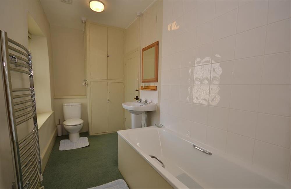 Bathroom at Britannia Cottage, Stoke Fleming
