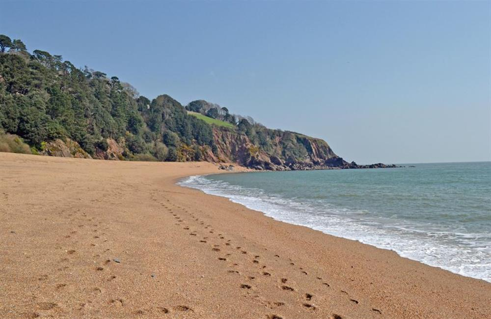 Blackpool Sands, a great family beach a very short drive away at Britannia Cottage, Stoke Fleming