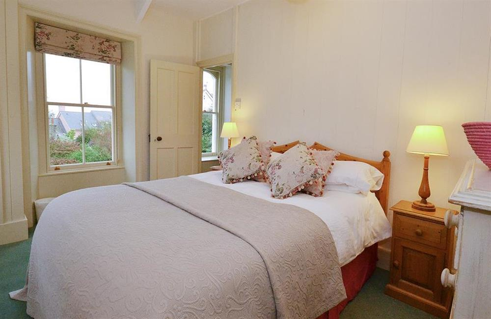 The double bedroom at Britannia Cottage, Stoke Fleming