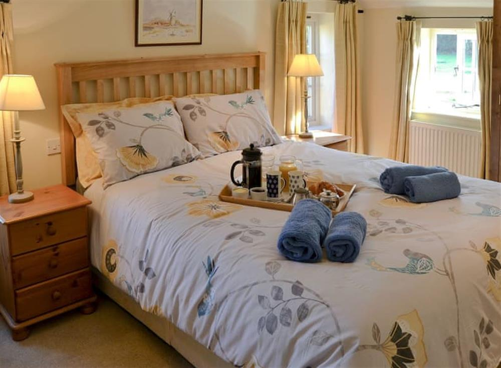 Attractive double bedroom at Broad Cottage in Barton Turf, near Norwich, Norfolk