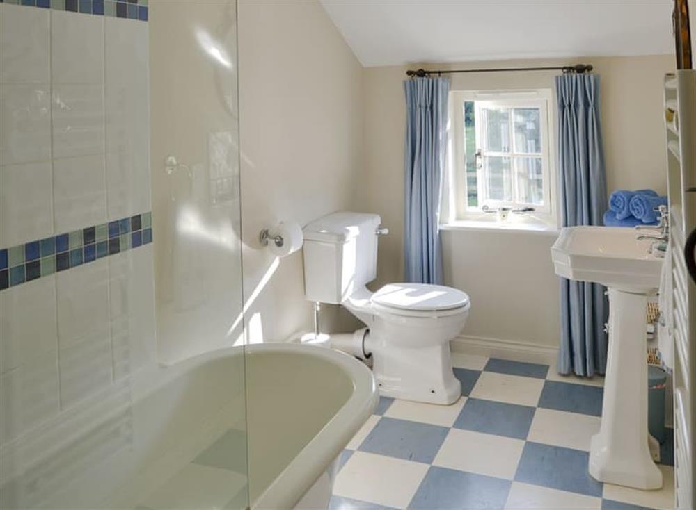 Bathroom at Broad Cottage in Barton Turf, near Norwich, Norfolk