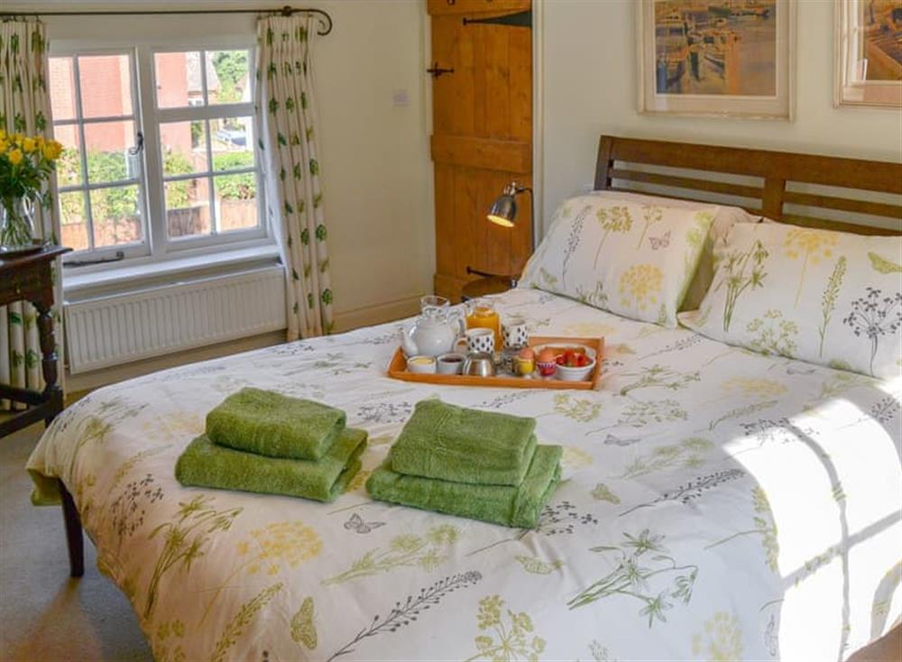 Comfortable double bedroom at Broad Cottage in Barton Turf, near Norwich, Norfolk