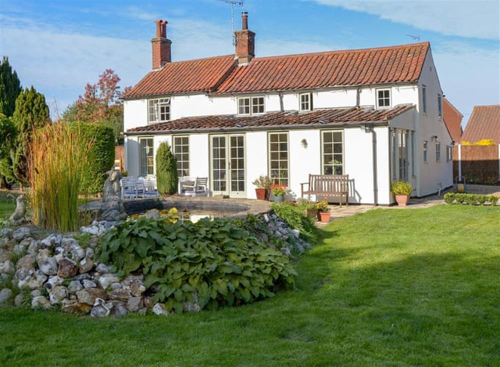 Stunning property at Broad Cottage in Barton Turf, near Norwich, Norfolk