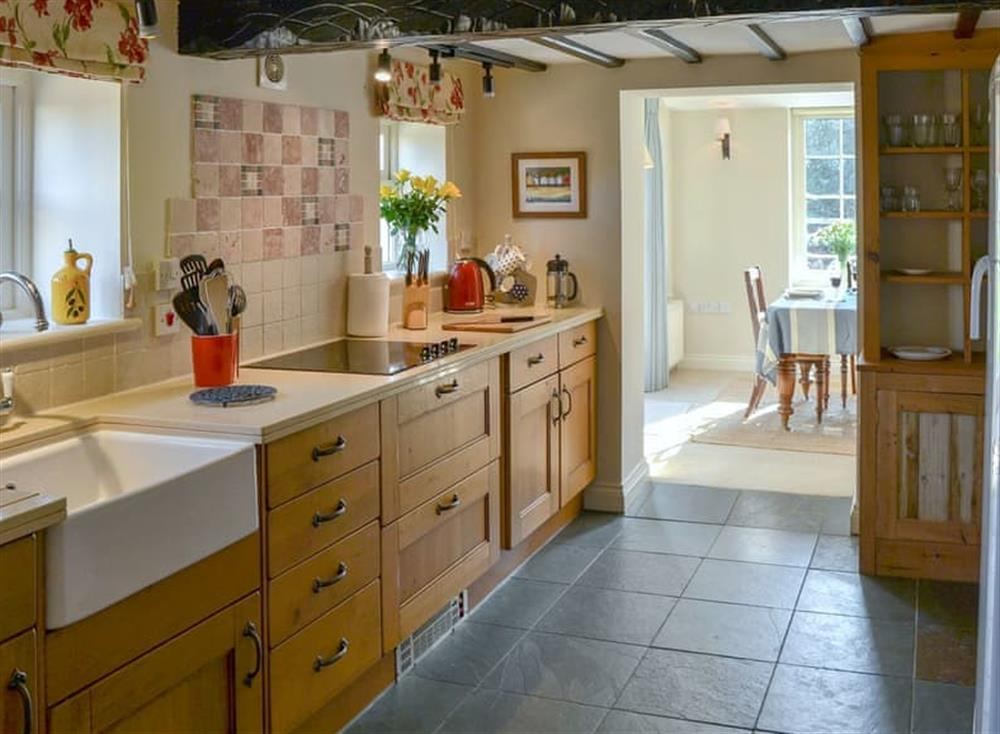 Well equipped kitchen at Broad Cottage in Barton Turf, near Norwich, Norfolk