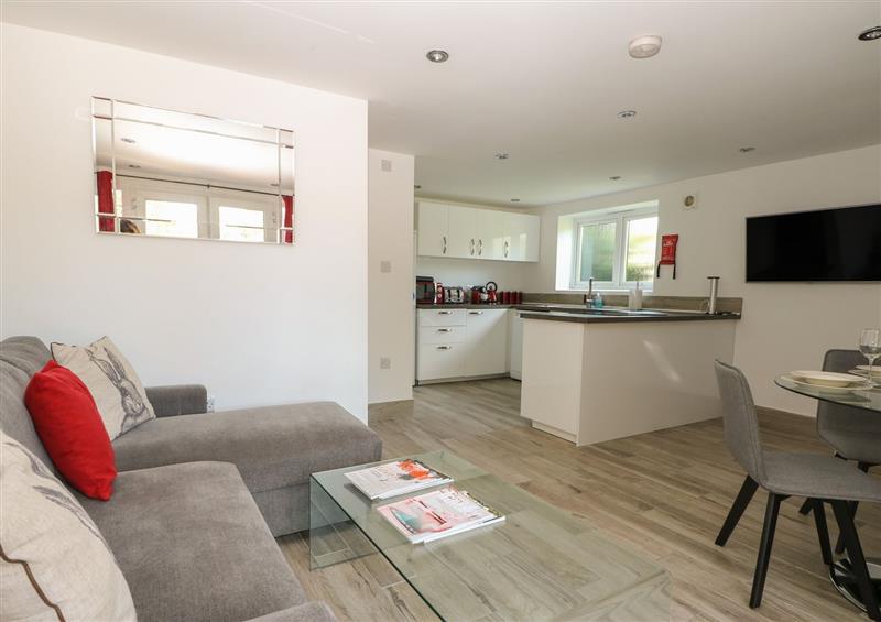 Enjoy the living room at Broadford Barn, Shalford