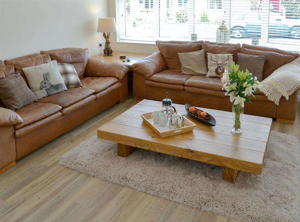 Comfy living room at Broadland Hideaway in Martham, near Great Yarmouth, Norfolk
