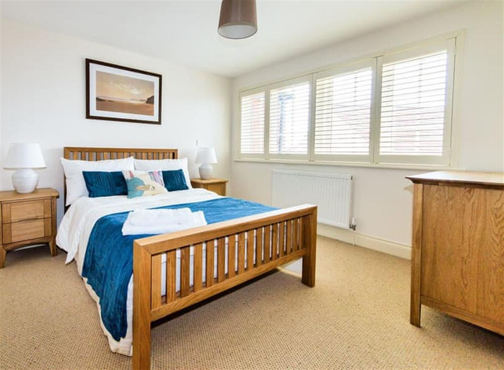 Comfortable double bedroom at Broads Reach in Stalham Staithe, near Happisburgh, Norfolk