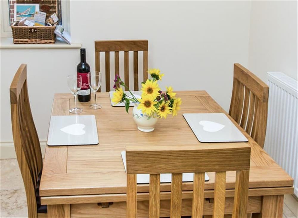 Delightful dining room at Broads Reach in Stalham Staithe, near Happisburgh, Norfolk