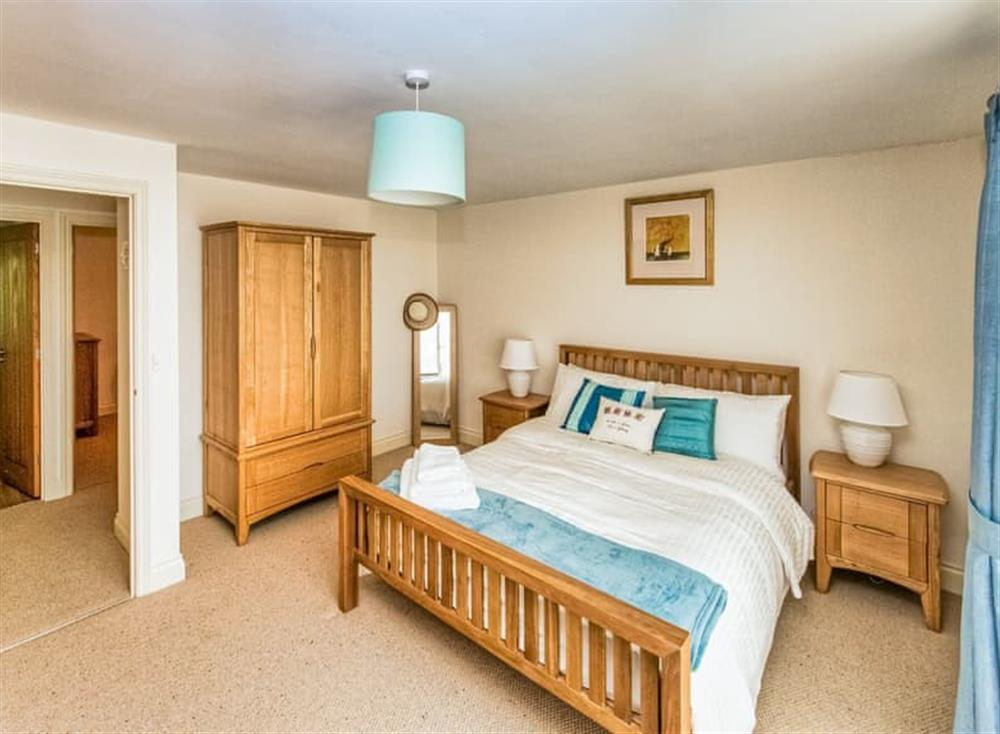 Inviting master bedroom at Broads Reach in Stalham Staithe, near Happisburgh, Norfolk