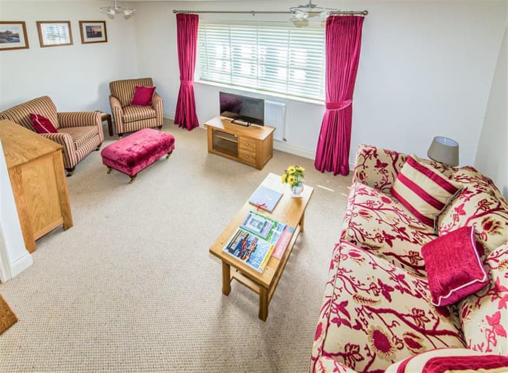 Light and airy living room at Broads Reach in Stalham Staithe, near Happisburgh, Norfolk