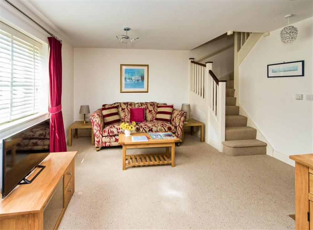 Lovely and comfortable living room at Broads Reach in Stalham Staithe, near Happisburgh, Norfolk