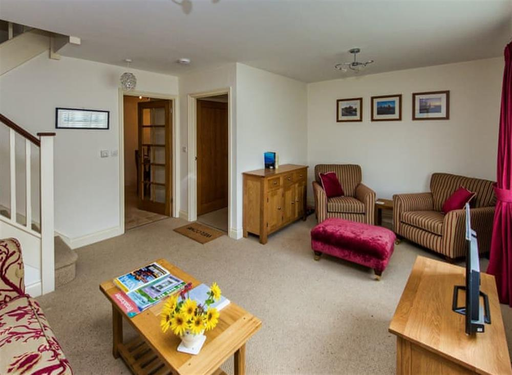 Welcoming living room at Broads Reach in Stalham Staithe, near Happisburgh, Norfolk