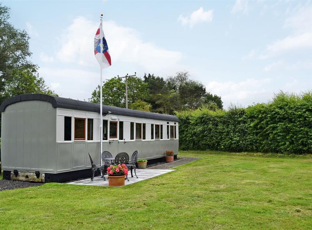 Unique railway theme property at Italian Carriage,