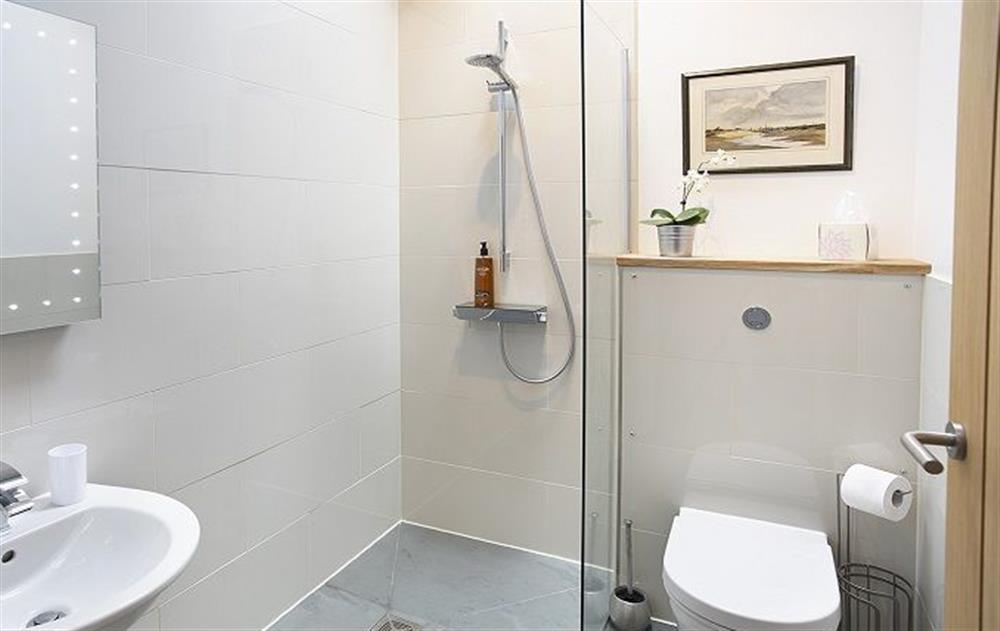 Ground floor:  En-suite wet room