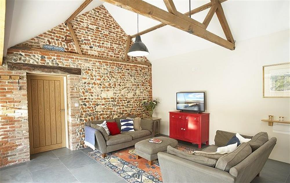 round floor:  Spacious, open plan kitchen/sitting and dining area at Bromholm Barn, Ridlington