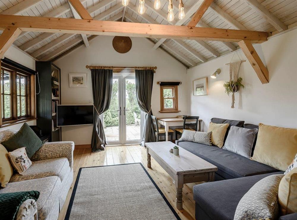 Open plan living space at Brook Farm Annex in Ashford, Kent