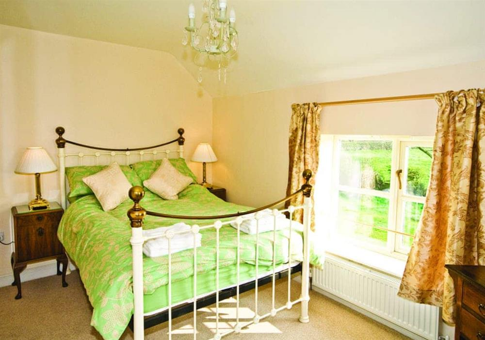 Brook farm Cottage double bedroom at Brook Farm Cottage in Middlewich, Cheshire