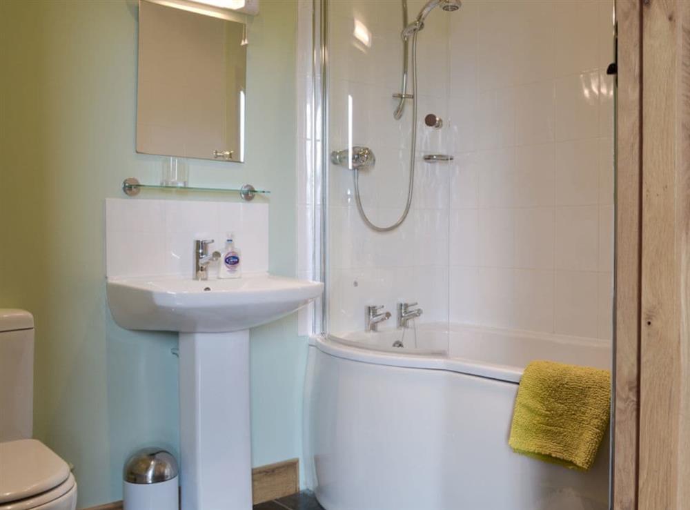 Bathroom at Brookhouse Barn in Chapel Allerton, near Cheddar, Somerset