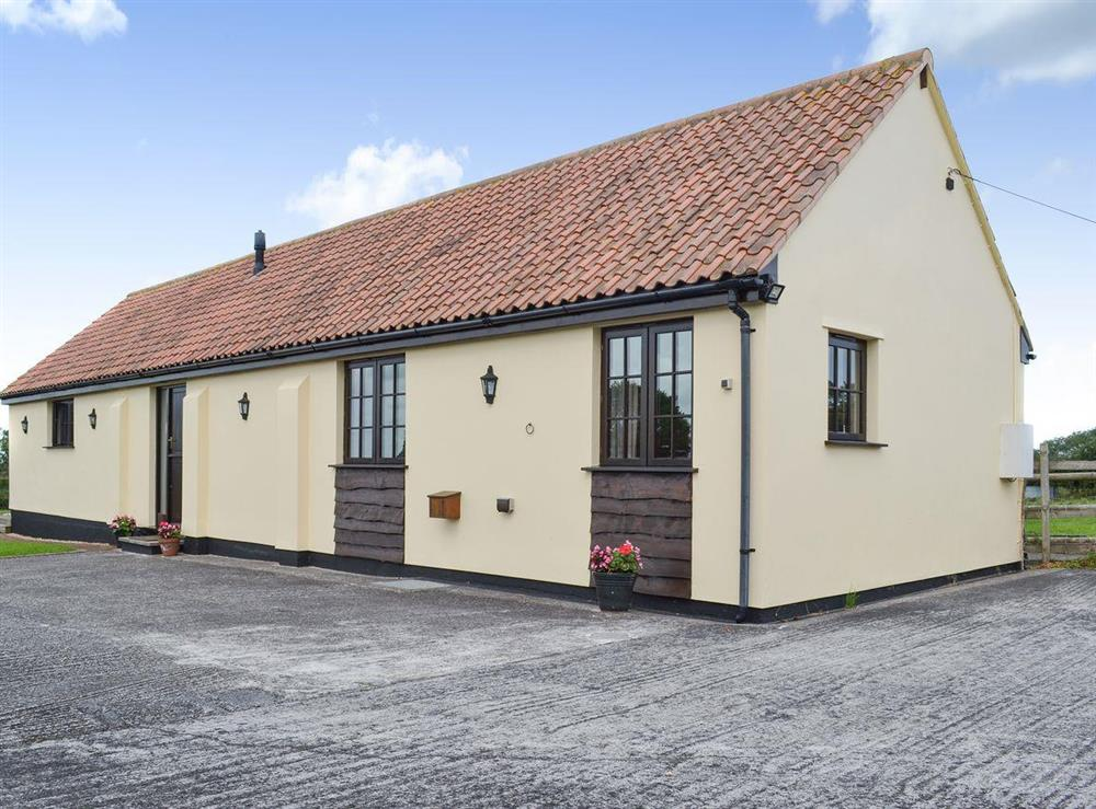 Detached barn conversion at Brookhouse Barn in Chapel Allerton, near Cheddar, Somerset