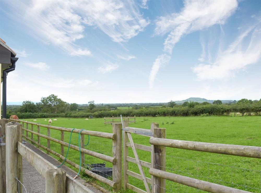 View from the property (photo 3) at Brookhouse Barn in Chapel Allerton, near Cheddar, Somerset