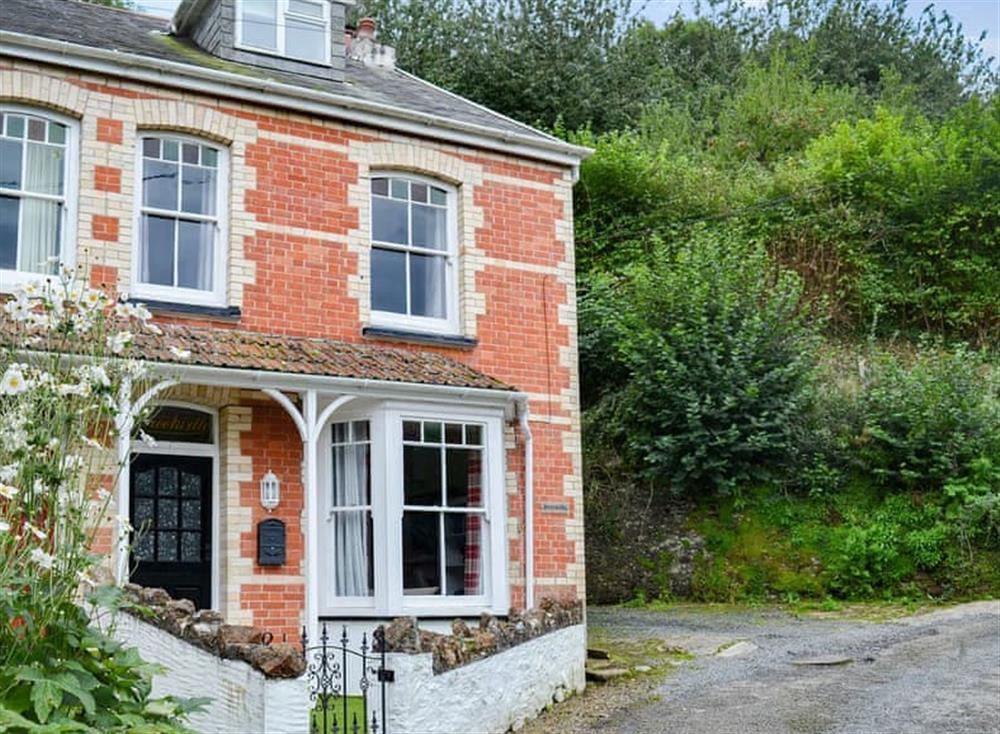 Beautifully appointed home tucked away above the town of Combe Martin