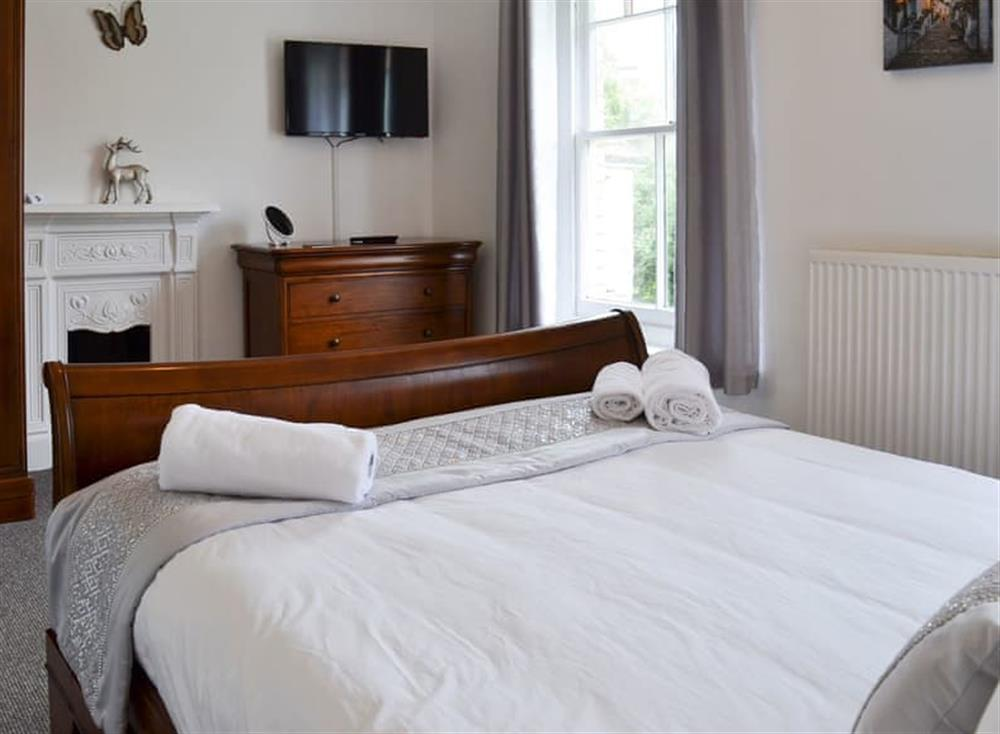 Lovely and inviting double bedded room