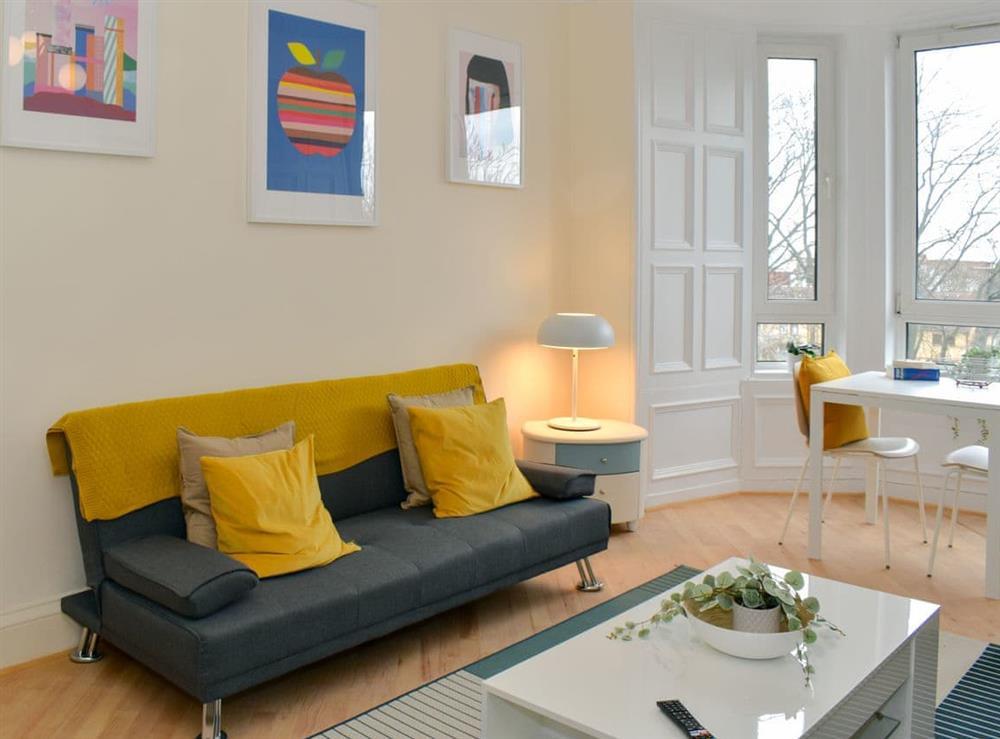 Living area at Brunton Apartment in Edinburgh, Midlothian