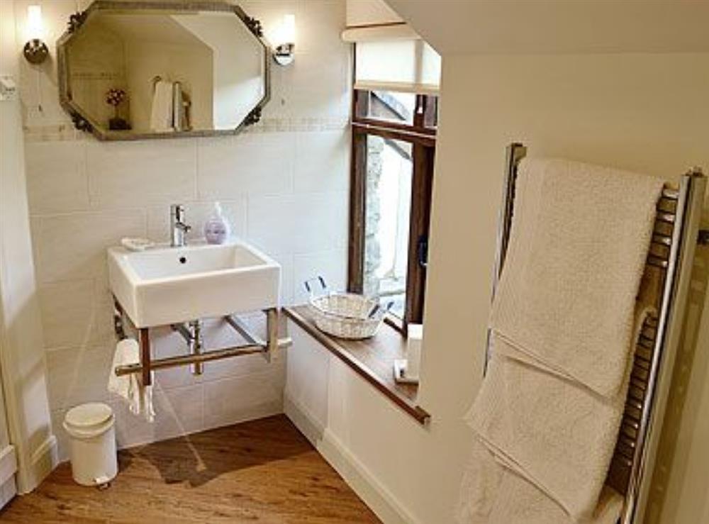 Bathroom at Bryn Dedwydd Cottage in Eryrys, near Mold, Clwyd
