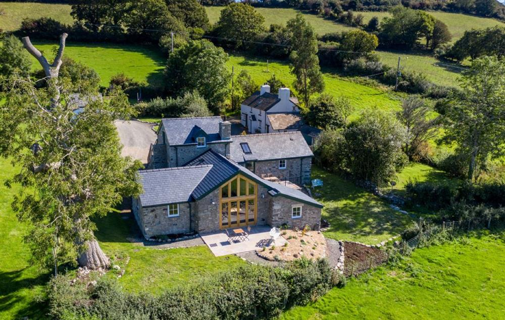 Bryn Mawr is a beautifully converted barn that sits high above the Conwy Valley