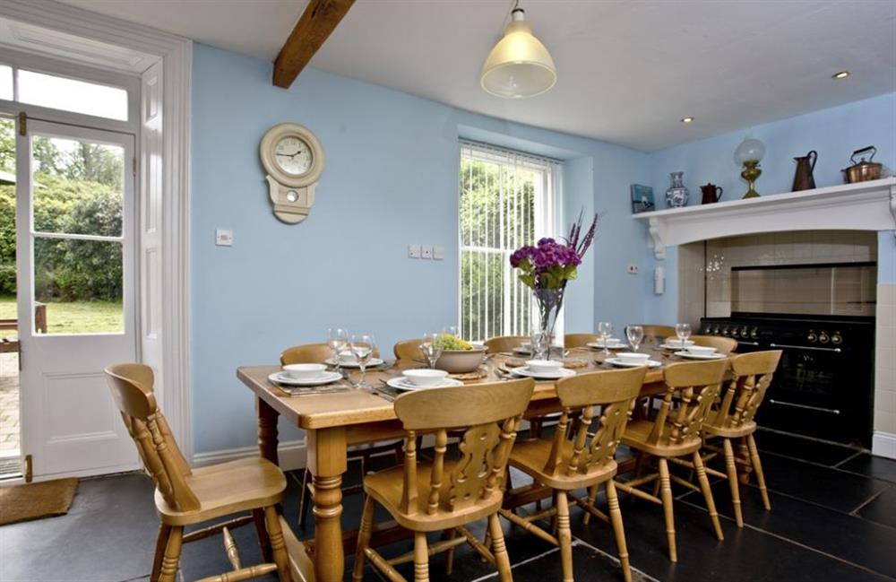 Dining room at Buckland House, Nr Dartmouth, Devon