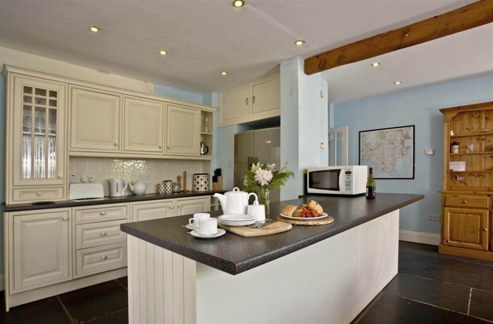 The kitchen at Buckland House, Nr Dartmouth, Devon